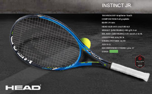 Ракетка Head Graphene Touch Instinct JR