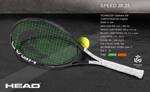 Head Graphene 360 Speed JR 25 2019