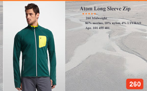 Atom Long Sleeve Zip | Арт. 101 455 401