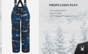 Брюки Spyder Boys Propulsion Pant | Camo Distress