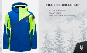 Куртка Spyder Boys Challenger Jacket | Turkish Sea