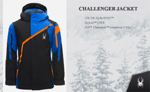 Куртка Spyder Boys Challenger Jacket | Black