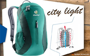 Рюкзак Deuter City Light |  2231 alpinegreen-forest