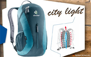 Рюкзак Deuter City Light | 3318 arctic-denim