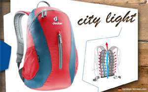 Рюкзак Deuter City Light | 5306 fire-arctic