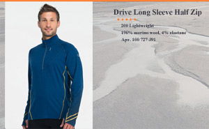 Drive Long Sleeve Half Zip | aрт. 100 727 J91.