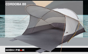 High Peak Cordoba 80 | Aluminium Dark Grey