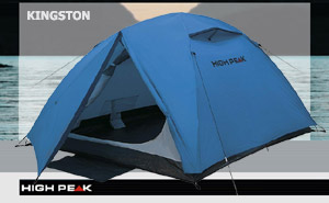 Палатка High Peak Kingston 3 (Blue/Grey)