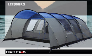Палатка High Peak Leesburg 6 | Grey Blue