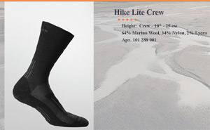 Носки Hike Light Crew MEN | арт. 101 288 001