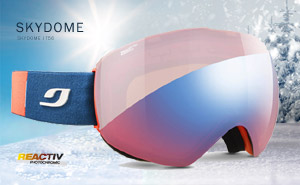 Julbo Skydome Zebra Light Red | J75634788 Blue flash