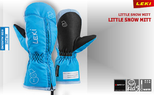 Leki Little Snow Mitt | cyan sky