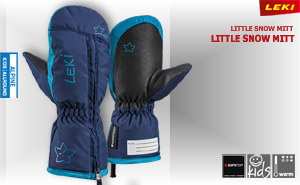 Leki Little Snow Mitt | navy sky