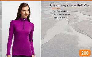 Oasis Long Sleeve Half Zip 100 515 501