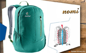 Рюкзаки Deuter Nomi |  2229 alpinegreen-avocado