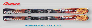 Nordica Transfire 74 | Red Orange