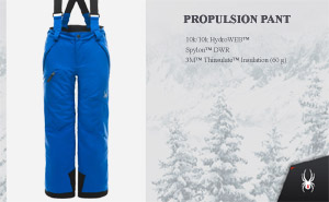 Брюки Spyder Boys Propulsion Pant | Turkish Sea