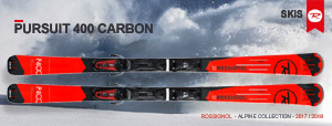 Горные лыжи Rossignol Pursuit 400 Carbon 2017