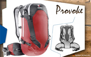 Рюкзак Deuter Provoke 16 | 5730 fire-black