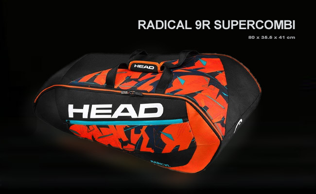 Чехол Head Radical 9R Supercombi | Black OR
