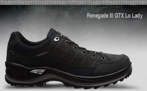 Lowa Renegade III GTX Lo Lady | Black