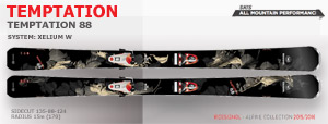 Rossignol Temptation 88 | Black