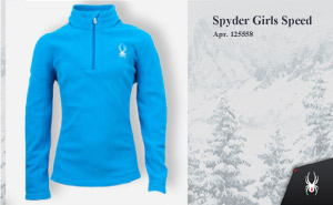 Флис Spyder Girls Speed | арт. 125558