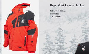 Spyder Boys Mini Leader