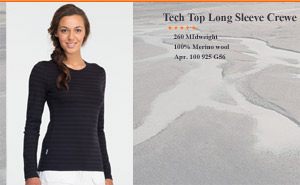 Tech Oasis LS Crew Stripe | арт. 100 925 G56