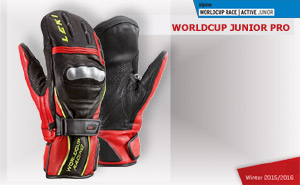Leki WorldСup Junior Pro Mitten Black