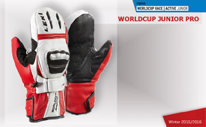 Leki WorldСup Junior Pro Mitten White