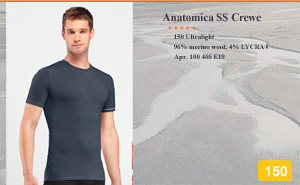 Anatomica Short Sleeve Crewe | арт. 100 466 E19