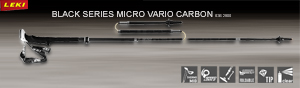 Leki Black Series Micro Vario Carbon