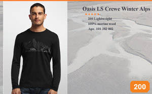 Oasis LS Crewe Winter Alps | Арт. 101 382 002