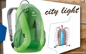 Deuter City Light | 2215 emerald-spring