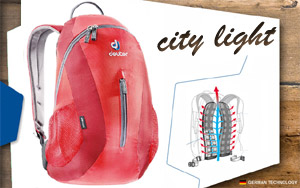 Deuter City Light | 5520 fire-cranberry