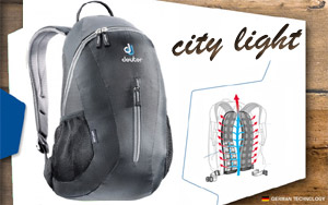 Рюкзак Deuter City Light | 7000 black