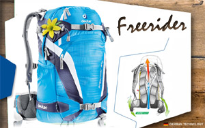 Deuter Freerider 24 SL | 3315 turquoise-blueberry