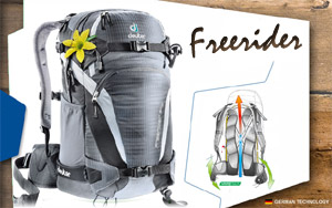 Deuter Freerider 24 SL | 4750 anthracite-black