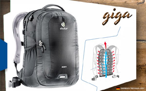 Рюкзак Deuter Giga | 7000 black