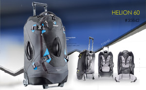 Deuter Helion 60 | Black Ocean