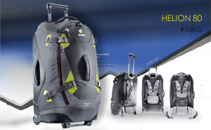Deuter Helion 80 | Black Moss