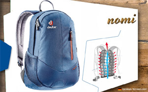 Рюкзаки Deuter Nomi | 3022 midnight-dresscode