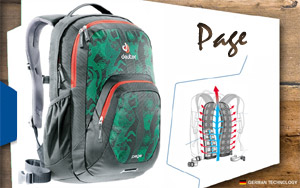 Рюкзак Deuter Page | 4033 anthracite-dreamland