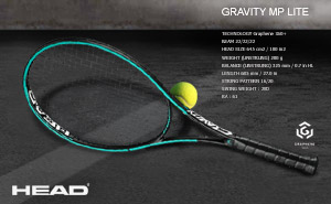 Ракетка Head Graphene 360+ Gravity MP Lite 2019