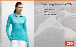 Tech Long Sleeve Half Zip Fair Isle | арт. 101 505 401