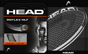 Струны HEAD Reflex MLT 1.25mm 17g - 12 m