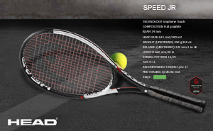 Head Graphene Touch Speed JR 2018