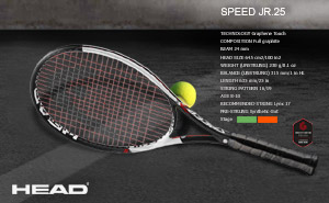 Head Graphene Touch Speed JR 25 2018