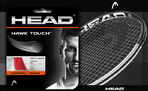 Струны HEAD Hawk Touch 1.25mm / 17g - 12 m | Red